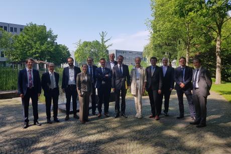 Des représentants de l'AFCN avec leurs collègues de la BMU à Bonn / Vertegenwoordigers van het FANC, samen met hun collega's van het BMU in Bonn